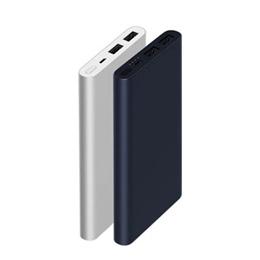 【正品】-新小米行動電源2★(兩件可合併運費)雙USB接口輸出/10000mAh /雙向快充/鋁合金金屬外殼/支持18W大功率輸入/高品質電路芯片/小電流充電模式