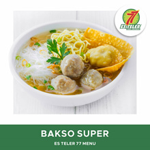 [FAST FOOD] Es Teler 77 Bakso Super