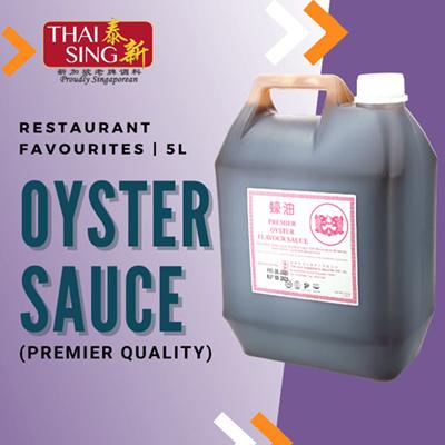 PREMIER Oyster Sauce - 5L