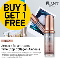 ❤ 2018 VOTED TOP AMPOULES FROM KOREA ❤ TIME STOP COLLAGEN AMPOULE ❤ THE PLANT BASE X COCOMO EXCLU