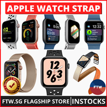 [FLASH SALE!! 40mm/44mm] Apple Watch Series 4/3/2/1 Strap Band Leather Woven Nylon Sport Loop