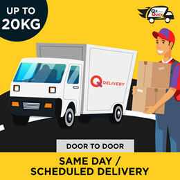 Qx Quick Service Voucher            [ Value S$ 9.99 / Up to 20 kg] Only for Local Delivery (Singapor