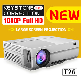 NEW! T26 1080P Home projector! The highest cost-effective network 1080p
