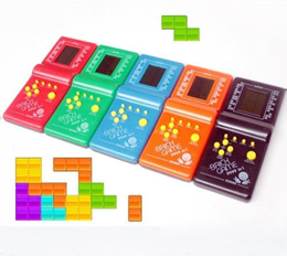 Vintage Classic Brick Game Tetris Electronic LCD Pocket Toys Handheld Arcade
