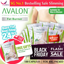 (EXTRA 10s) BLACK FRIDAY FLASH SALE!!! SG #1 BestSelling AVALON™ Fat Burner SAFE SLIMMING