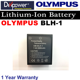 Olympus BLH-1 Lithium-ion Battery for Olympus Camera by Divipower