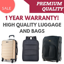 **SHOP COUPONS AVAILABLE** Clearance Sale - High Quality Luggage and Bags with Warranty