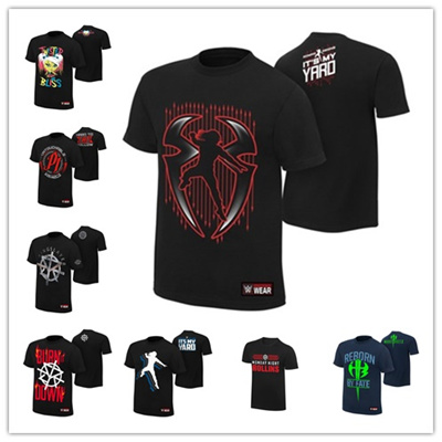 a09c902b Qoo10 - WWE Roman Reigns Mens T-shirt Short Sleeve Cotton Clothes Af ...