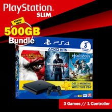 Playstation 4 Slim 500GB Hit Bundle // 3 Games // 1 Controller // Grab Now