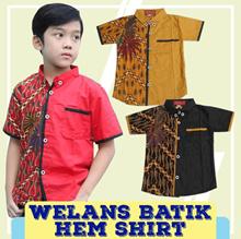 Welans Batik - Kebaya Anak - Hem Shirt - Motif LP07