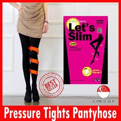 ac62d18a5 Lets Slim 200D Pressure Tights Pantyhose stockings compression stockings  leggings students pouring