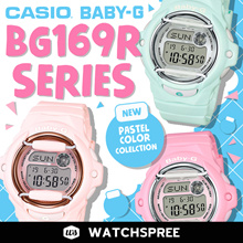 *APPLY 25% OFF COUPON* CASIO BABY-G BG169 SERIES! Free Shipping and 1 Year Warranty!