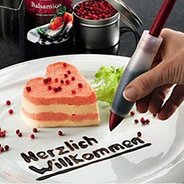 Silicone Cake Decorating Syringe Cream Chocolate Plate Pen Bakeware Tools