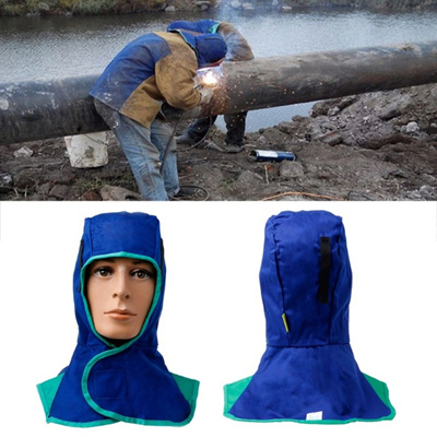 f59cee4f Washable Flame Retardant Welding Neck Face Protection Hood Welder Head Cap  Cover OUT