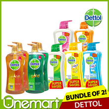 [DETTOL] 2 x 950ml Body Wash (=Twin Pack) ★ Save 30% ★ 8 Flavours