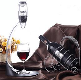 Red Wine Aerator Filter New Magic Decanter Essential Wine Aerator Set