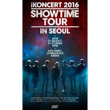 Music IKON-2016 IKONCERT SHOWTIME TOUR IN SEOUL LIVE 2CD+POSTER+Pho