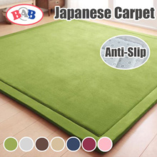 【Local Seller】 ★Anti-Skid/Anti-Slip★ Japanese Carpet/Japan Carpet/Floor Mat /Playmat Flannel Fleece