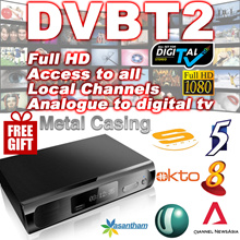 2018❤FREE GIFT❤ Singapore Digital  DVB T2 TV Box Set-top Box Receiver ★ Indoor Antenna
