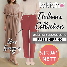 TOKICHOI - August New Arrivals NDP THEME $12.90 BOTTOMS PANT SKIRTS NETT PRICING FREE SHIPPING