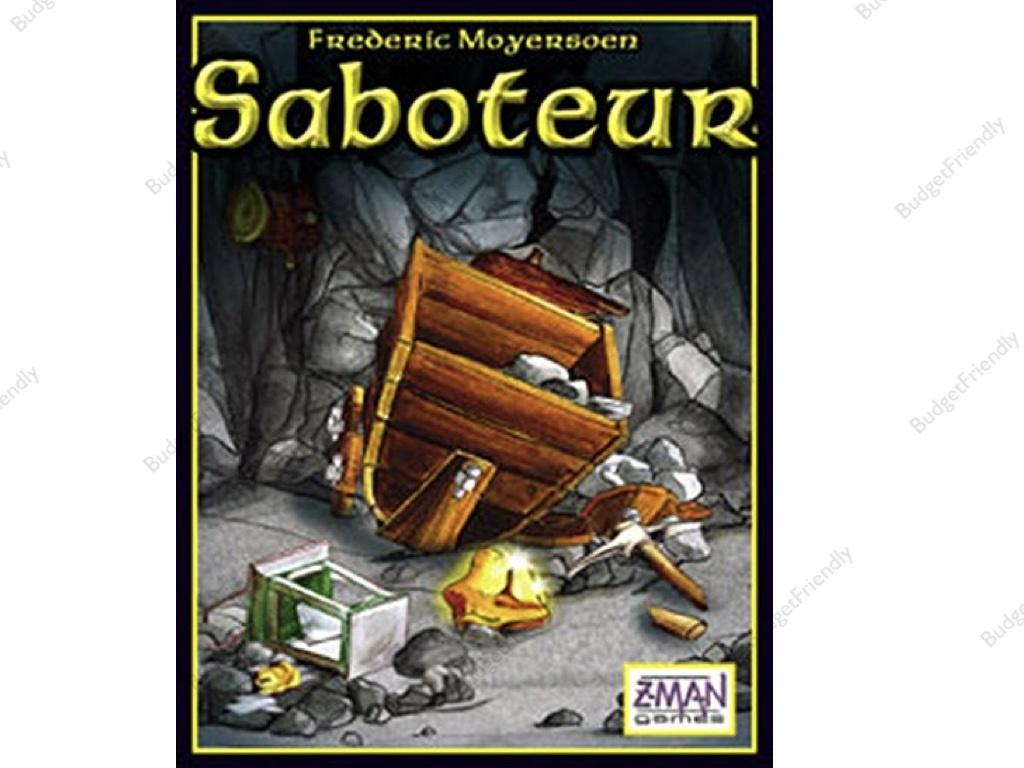 Qoo10 Saboteur Computer Game