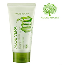 NATURE REPUBLIC Soothing and Moisture Aloe Vera Cleansing Gel Foam 150 ml