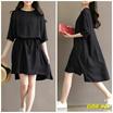 DRESS KECE BADAI BEST SELLER QOO10~ KOREAN STYLE DRESS FOR WOMEN!! Gaun Dress Maxi 18-4