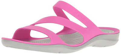 Lightweight Water and Beach Shoe Casual Comfort Slip On Crocs Womens Swiftwater Sandal