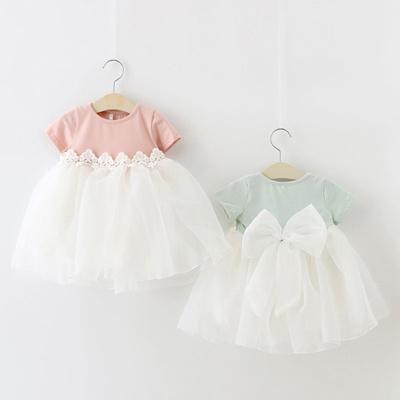ff72b4dea One year old baby girls summer dress princess dress skirt 1-2-new girls