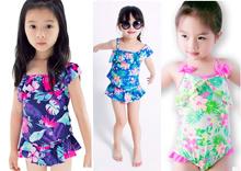 Baby Girls Toddlers Children kids swimsuit swimwear bikini age2-8 #inbono