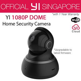 [Official YI Store] XIAOYI YI 1080P DOME CAMERA (International Set)   Pan Tilt Zoom