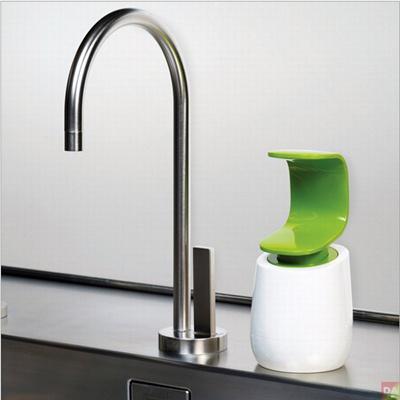 C Style Hand Back Press Hand Washing Liquid Soap Kitchen Bathroom Liquid Bottle Bathroom Accessories