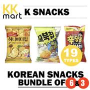 SNACK - Korean snacks 20 flavors [Bundle of 6 3]