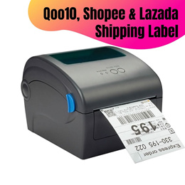 Thermal Label Printer No Need Ink Labeller for Qoo10 Lazada or Shopee Waybill Shipping Label