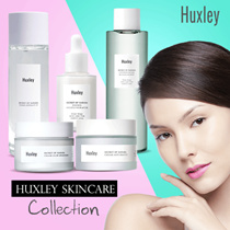 ❤HUXLEY❤DISCOVER THE SECRET OF THE SAHARA❤TONER/OIL ESSENCE/CREAM/CLEANSING WATER❤