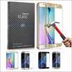 For Samsung Galaxy 7/S7/S7 Edge/S6 Edge Plus iPhone6 6/6s/7 Plus Full Cover Curved 9H 3D Tempered Glass Screen Protector With Retail Package