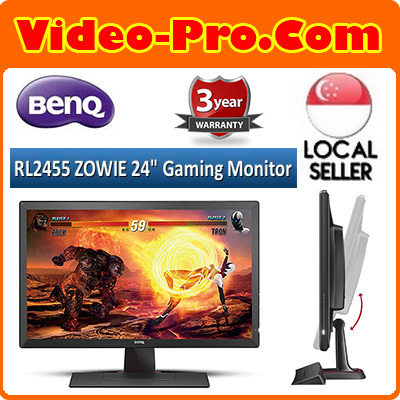 BenqBenQ ZOWIE RL2455 24 inch Full HD Gaming Monitor 1ms for Competitive  eSports Gaming 3Years Warranty
