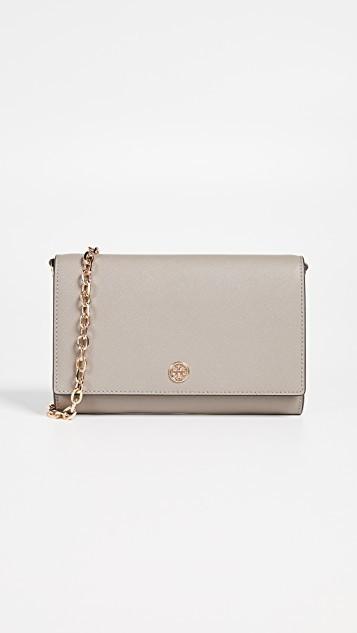 f1865972ed Qoo10 - Tory Burch Robinson Chain Wallet : Bag & Wallet