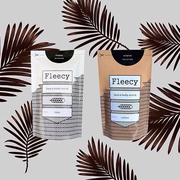 FLEECY SCRUB ORIGINAL NEW PACK Deals for only Rp64.000 instead of Rp64.000