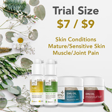 [30% OFF] Skin Problems/Mature or Sensitive Skin/Joint or Muscle Pain. 100% Natural. In Trial Sizes.