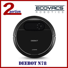 [USE COUPON] ECOVACS DEEBOT N78 ROBOT VACUUM CLEANER / WET AND DRY MOP FUNCTION