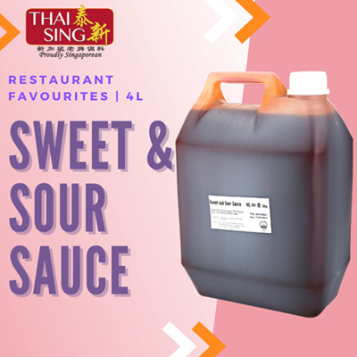 Sweet and Sour Sauce for Chinese Cooking - 5L