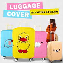 Luggage Cover Rilakkuma and Friends / Penutup dan Pembungkus Koper / Sarung Koper