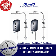 (F2C) ALPHA INSTANT WATER HEATER --- SMART 18i RAINSHOWER WITH DC PUMP