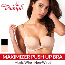 Triumph Maximizer Magic Wire Non-Wired Push Up Bra / Triumph / Bra / Woman Wear