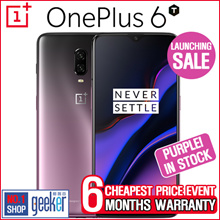 [Guarantee Cheapest][IN-STOCK!] ONEPLUS 6T (128GB 256GB) 3 Colors available ! [FREE 6 MONTHS WARRANTY!]
