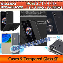 ★FREE SCREEN PROTECTOR!★[SG] Xiaomi Redmi Note 5 5 PRO 5A Prime Y1 4 4X 3 2 FULL TEMPERED GLASS CASE