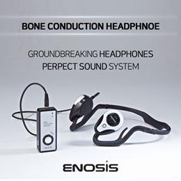 [Enosis]★HUA-503B Bone Conduction Stereo Headphone★ear protection/sports headphone/korea/gg17_025