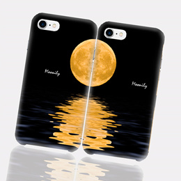 COUPLE MOON PC Hard Case FOR GALAXY NOTE9 IPHONE X XS MAX XR SMART MOBILE PHONE