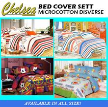 BED COVER + SPREI MICROCOTTON DISVERSE ~ / part 2